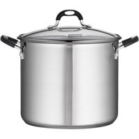 Tramontina Stainless Steel 12-Quart Covered Stock Pot