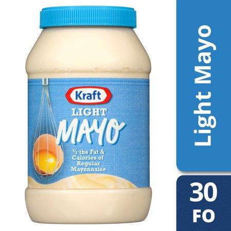 Kraft Light Mayo, 30 fl oz Jar