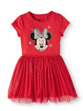 Minnie Mouse Foil Mesh Dress (Little Girls and Big Girls)