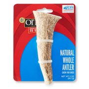 Ol' Roy Natural Whole Antler Chew for Dogs, 2 oz