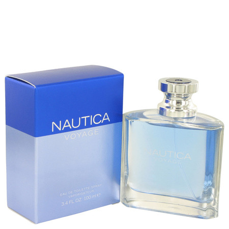Nautica Voyage Eau de Toilette Spray for Men, 3.4 fl oz Celine Freesia Eau De Toilette