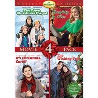 Hallmark Holiday Collection 3: The Town That Christmas Forgot / Naughty Or Nice / It's Christmas, Carol! / The Wishing Tree (DVD)