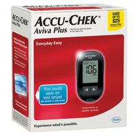Accu-Chek Aviva Plus Blood Glucose Monitoring System, 1.0 CT (Pack of 3)