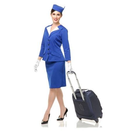 Halloween Stewardess Adult Costume