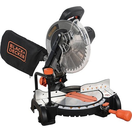 BLACK+DECKER 15 Amp 10-Inch Compound Miter Saw,