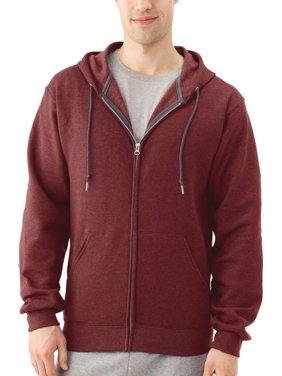 4b19e30cd71 Product Image Fruit of the Loom Men s Dual Defense EverSoft Fleece Full Zip  Hooded Sweatshirt