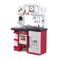 Step2 Coffee Time Play Kitchen Set with Toy Coffee Maker