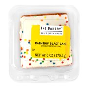 The Bakery Rainbow Blast Cake 6 Oz