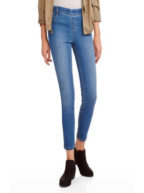 Juniors' Luxe Pull-On Ankle Jegging Pants