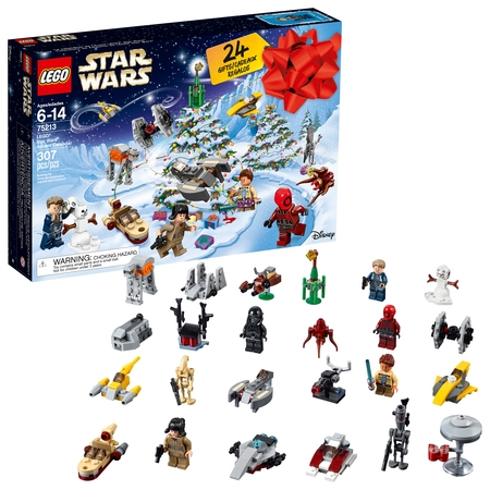 Lego Star Wars 2018 24 Day Advent Calendar Holiday Set - Diy Lego
