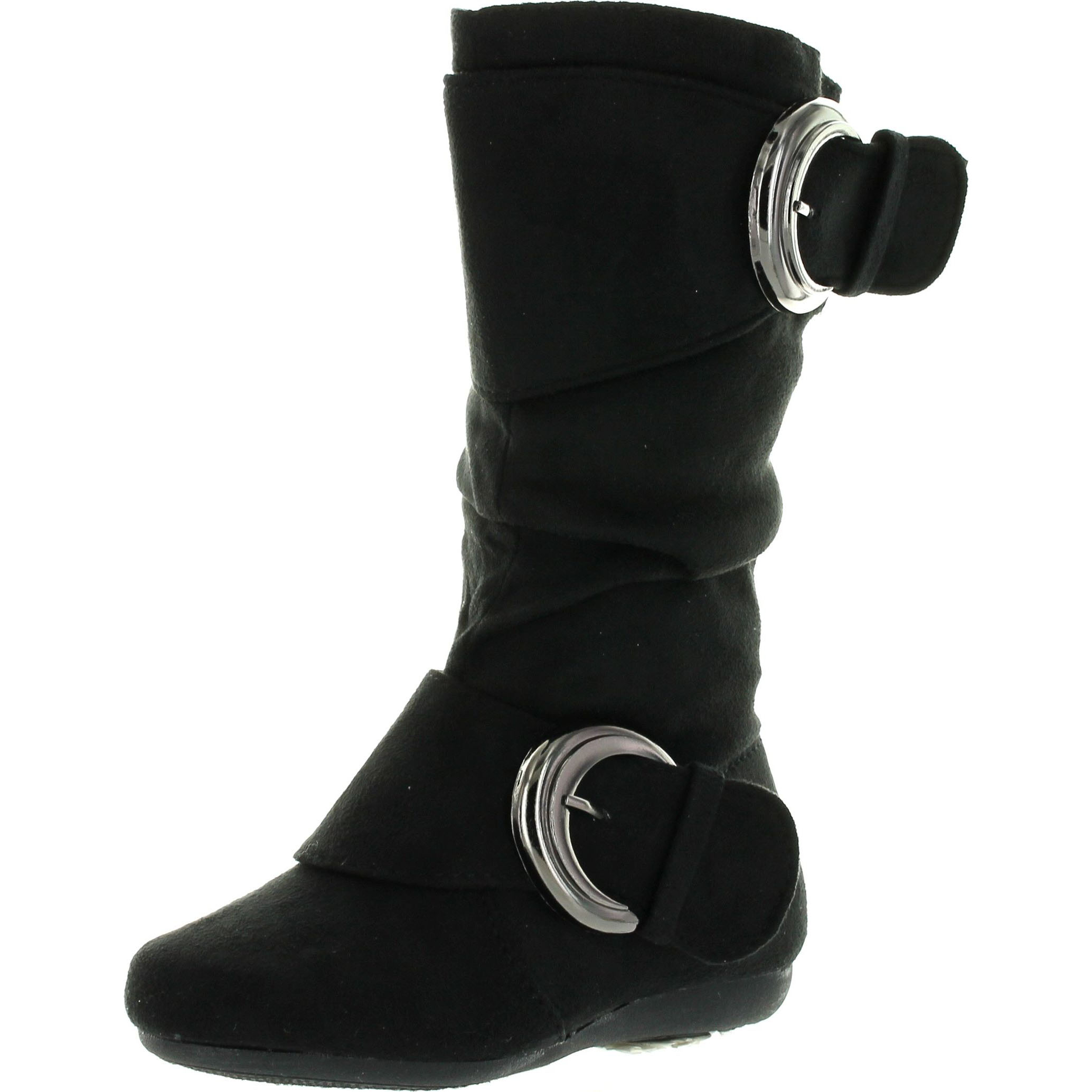 New Children Kids Girls Lace Up Warm fur Lined Work Ankle Boots Broadway 2k