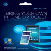 AT&T PREPAID℠ SIM Kit - UNLIMITED HIGH-SPEED DATA - 3 LINES FOR $100/MO. Details below.