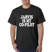 Jarvis Is My Co-Pilot Mens T-shirt