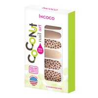 Coconut Nail Art by Incoco Nail Polish Strips, Steal the Show