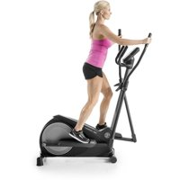 Gold's Gym Stride Trainer 380 Compact Elliptical Machine with iFit