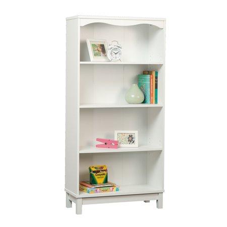 Sauder Storybook Kids Bookcase, Soft White Finish