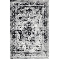 Deals on Unique Loom Indoor Distressed Modern Area Rugs 5-ft x 8ft