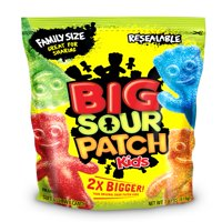Sour Patch Kids Big Soft & Chewy Candies, 1.9 Lb.
