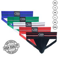 Golberg Premium Ultra-Comfort Jock Strap Athletic Gol-Fit Sports Supporters - All Colors and Sizes