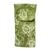 7b63c383d3b Floral Eyeglass Case Top Closure