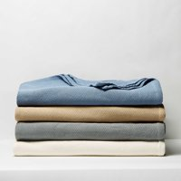Better Homes & Gardens Pure Cotton Woven Blanket, 1 Each