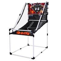 Lancaster 2 Player Junior Home Electronic Scoreboard Arcade Basketball Hoop Game