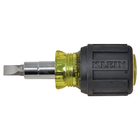 - Klein Tools 32561 Stubby Multi-Bit Screwdriver/Nut Driver