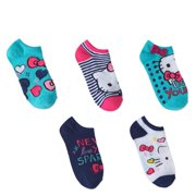 16da3e501 Hello Kitty No Show Socks, 5 Pairs (Little Girls & Big Girls)
