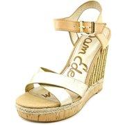 b5dd6e6df Sam Edelman Clay Women s Sandals   Flip Flops NTRL LTGold ...