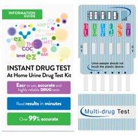EZ Level 12 Panel Instant Urine Drug Test Multi-Drug Testing Kit (1 Pack)