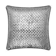 5dd1c599f5a Mainstays Silver Distressed Foil Metallic Throw Pillow
