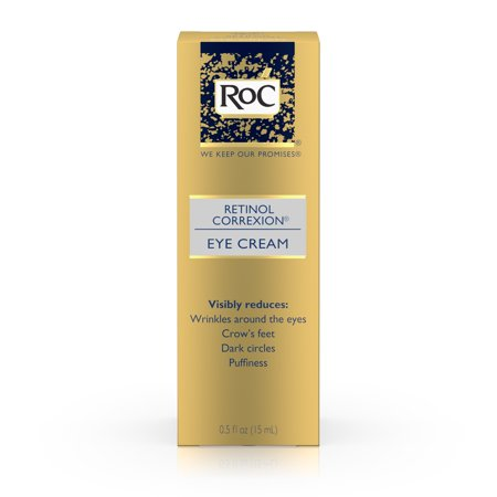 RoC Retinol Correxion Anti-Aging Eye Cream Treatment,.5 fl. (Best Eye Cream For Thin Crepey Skin)