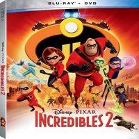 Incredibles 2 (Walmart Exclusive) (Blu-ray + DVD)