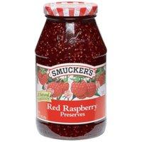 Smucker's Preserves, Red Raspberry, 32 Oz