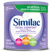 Similac Total Comfort Infant Formula with Iron, Powder, 12 oz (Pack of 6)