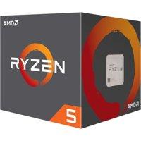 AMD Ryzen 5 1600 Processor 3.6 GHz 6-Core AM4 Processor with Wraith Spire Cooler