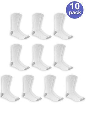 Men's Crew Socks 10-Pack