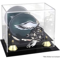 Mounted Memories NFL Classic Logo Mini Helmet Display Case