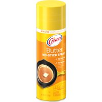 (3 Pack) Crisco Butter Flavor No-Stick Cooking Spray, 6-Ounce