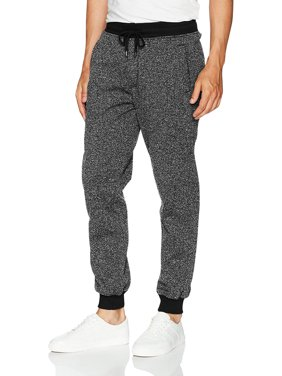 Mens Marled Jogger Pants Basic Brushed Fleece Solid Sweatpants