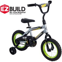 "Huffy 12"" Rock It Boys' EZ Build™ Bike, Silver"