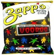 Zapp's New Orleans Kettle Style Voodoo Potato Chips, 8 Oz.