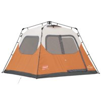 Coleman Outdoor 6 Person 10' x 9' Easy Set Up Family Camping Instant Pop Up Tent