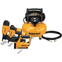 Factory-Reconditioned Bostitch BTFP3KIT-R 3-Piece Nailer and Compressor Combo Kit (Refurbished)