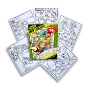 Crayola Art with Edge Nickelodeon '90s Premium Coloring Pages