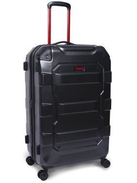 """Coleman Artillery 28"""" Hard side Luggage, Charcoal"""