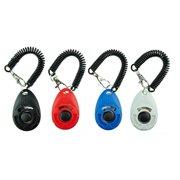 4 Pcs Pet Training Clicker with Wrist Strap, Dog Training Clicker Set