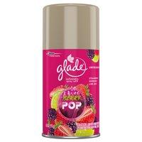 Glade Automatic Spray Air Freshener Refill, Berry Pop, 6.2 oz