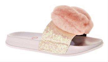 Jojo Siwa Girl's Heart Slide Sandal