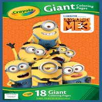 Crayola Despicable Me 18 Giant Coloring Pages